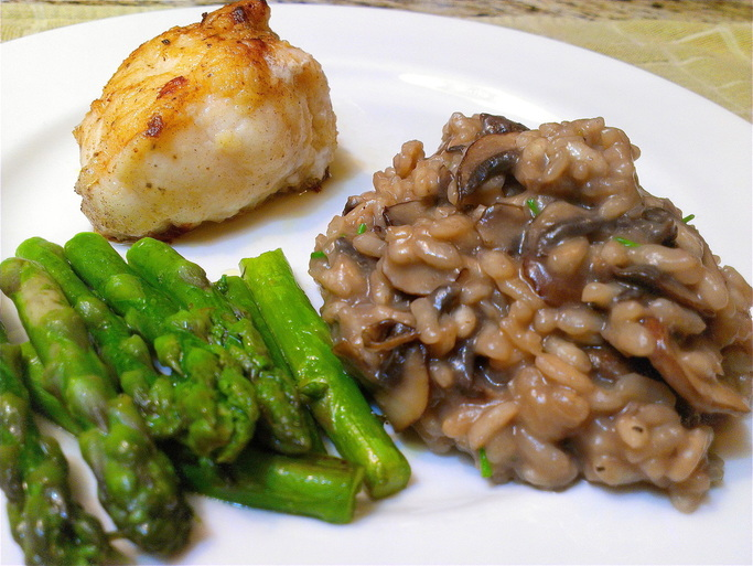 Mushroom Risotto | Recipe by Creating a Curated Life