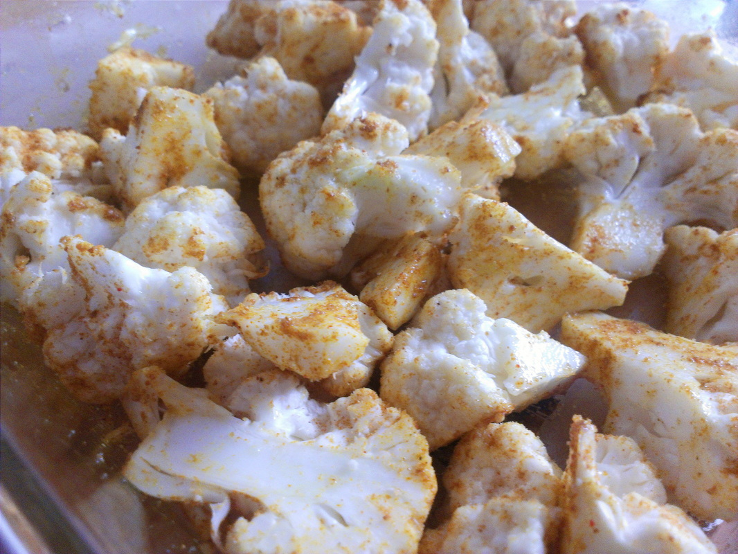 Roasted Cauliflower by Creating a Curated Life.